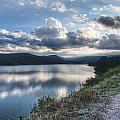 Sunset Over Barker Lake by Noah Katz