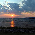 Sunset Over Lake Michigan by Mike Stanfield