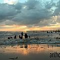 Sunset Over Lake Pontchartrain by Anthony Walker Sr