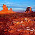 Sunset Over Monument Valley by Brian Jannsen