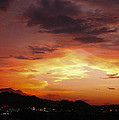Sunset Over Pigeon Forge by Katherine Tucker