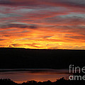 Sunset Over Seneca Lake by Amy Reges