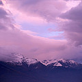 Sunset Over Snow-capped Mountains by Ulrich Kunst And Bettina Scheidulin