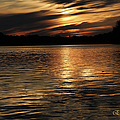 Sunset Over The Lake - 3rd Place Win by Ericamaxine Price