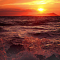 Sunset Over The Waves by Martin Fry