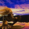 Sunset Paddle by Jeff Galbraith