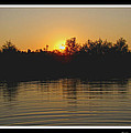 Sunset Pond by Debbie Portwood