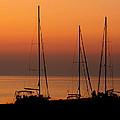 Sunset Sail by Katy Sunstrom