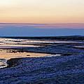 Sunset Salton Sea North by Linda Dunn