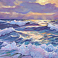 Sunset Santa Catalina by David Lloyd Glover