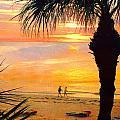 Sunset Stroll by Stephen Warren