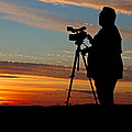 Sunset Videographer by David Freuthal