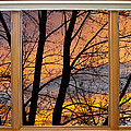 Sunset Window View by James BO Insogna