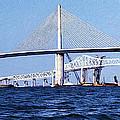 Sunshine Skyway Bridge II by Richard Rizzo