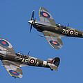 Supermarine Spitfires by Ken Brannen