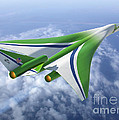 Supersonic Aircraft Design by NASA/Science Source