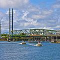 Surf City Swing Bridge by Betsy Knapp