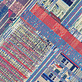 Surface Of Integrated Chip by Michael W. Davidson