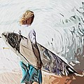 Surfer by Tilly Williams