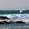 Surfing In Cornwall by Brian Roscorla