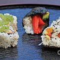 Sushi California Roll by Henrik Lehnerer