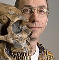 Svante Paabo, Swedish Geneticist by Volker Steger