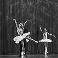 Swan Lake  White Adagio  Russia 4 by Clare Bambers