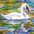 Swan Summer by SchulmanArt