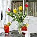 Sweet Tea And Tulips by Toni Hopper