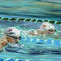 Swimmers by Paul Mitchell