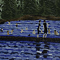 Swimming At The Res by Kurt Olson