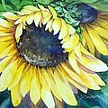 Swingin' Sunflowers by Judith A Smothers