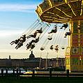 Swings At Sunset by Paul Van Scott