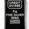 Swiss Silver Bar by Laguna Design
