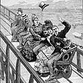 Switchback Railway, 1886 by Granger