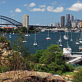 Sydney From Blues Point by Terry Everson