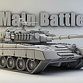 T-80 Main Battle Tank by Dale Jackson