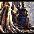 Ta Prohm Khmer Temple In Cambodia by Ryan Fox