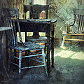 Table And Chairs by Jill Battaglia