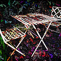 Table And Chairs by Joan  Minchak