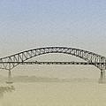 Tacony - Palmyra Bridge by Bill Cannon