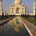 Taj Mahal Reflection by Ivan Slosar