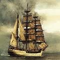 Tall Ship by Marcin and Dawid Witukiewicz