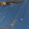 Tall Ship Rigging 1 by Winston  Wetteland
