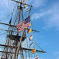 Tall Ships Banners by David Bearden