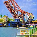 Tampa Drawbridge by Jost Houk