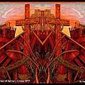 Tangles Of Terror Cross Nine Eleven  by Ray Tapajna