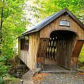 Tannery Hill Covered Bridge by Wayne Toutaint