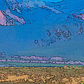 Taos Abstract by Charles Muhle