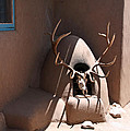 Taos Horno And Antlers by Elizabeth Rose